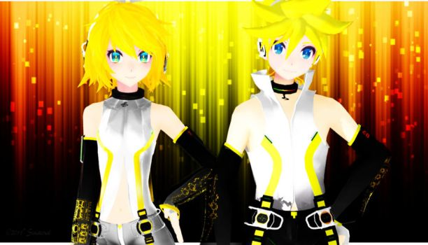 TDA Rin and Len Appends by LuarantMoon