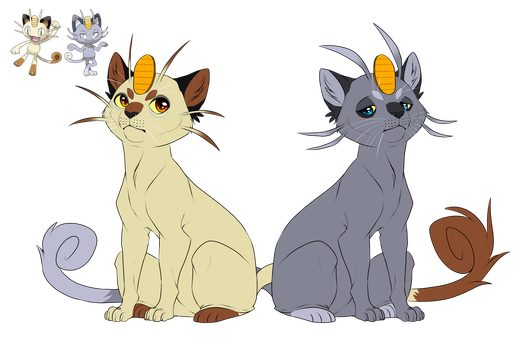 Meowth- That's right! by blueharuka