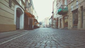 Street of old town  by Virginijaa
