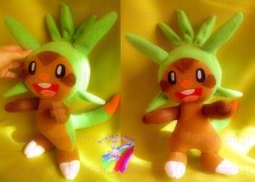 CHESPIN POKEMON X Y PLUSH