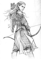 Legolas with DOS costume by evankart