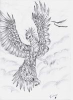 Archangel Dragon by ZirraWolfiex on DeviantArt