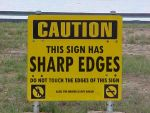 Funny sign by minimotofisher