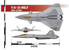 F/A-33 Wolf Naval Scheme by Afterskies