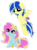 MLP:FiM - Jediel and Sunny Hope by pat412
