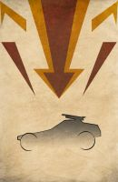 Movie Car Racing Posters - MegaForce Destroyer by Boomerjinks