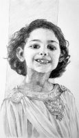 Portrait for Another Little Moroccan Girl by Rossi-Rosedeni