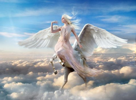 Pegaso heavenly Angel v2 by FueledbypartII