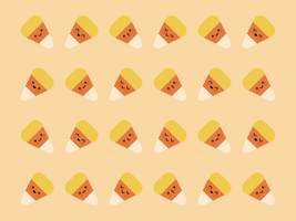Cute Candy Corn by apparate