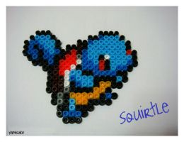 Perler Beads: Squirtle