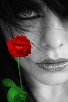 Kiss From A Rose... by TheClownPrince29