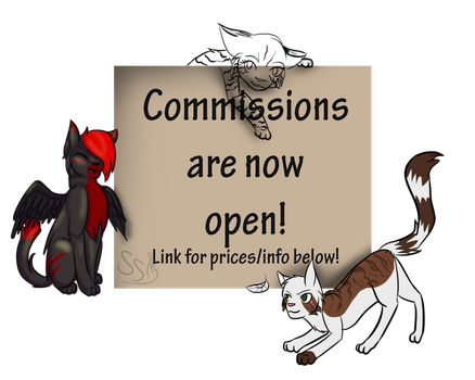 Commissions are now Open | Promo Picture by ScorcherSoldier