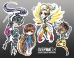 Chibi Overwatch by Si3art