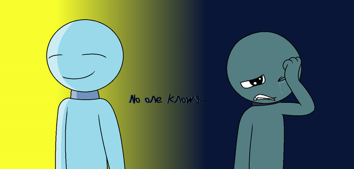 No one knows... by Deathdreamer06