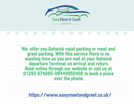 gatwick meet and greet promo codes