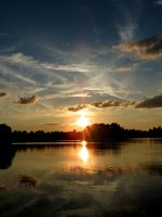 The Calm of the Sunset by Michies-Photographyy