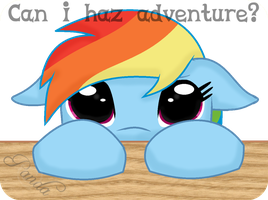 Can Dashie Haz? by iPandacakes