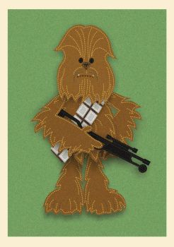 Felt Chewbacca - What a Wookie!! by HawkTheSlayer