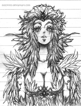 Nature's Royalty Sketch by mslckitty