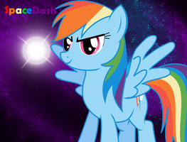 Dash in space by MetallicaDutch