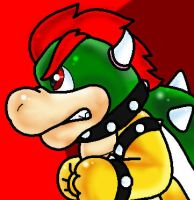 Bowser is Also Shiny :I by supermariobroDX