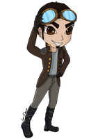 Steampunk Lyones (Anime Version of Minecraft Skin) by SpinaOscura