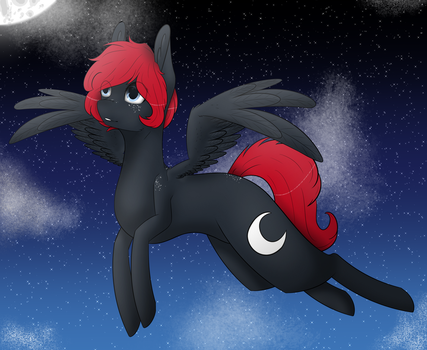 [AT] Sky + speedpaint by ACIDtheAD