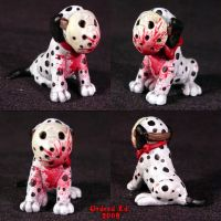 Jason Voorhees dog MACHETE by Undead-Art