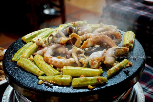 Grilled Octopus by vungoclam