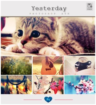 Yesterday Photoshop Action by friabrisa