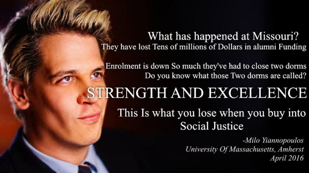Milo Yiannopoulos on Social Justice by TheakHD