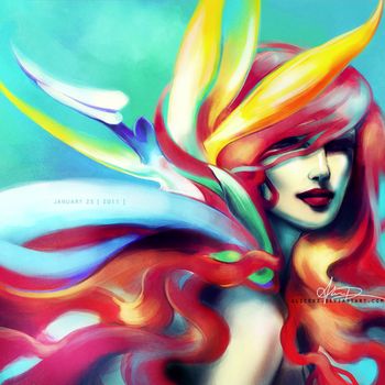 Bird of Paradise by alicexz