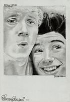 Niall and Zayn by ludvigsen
