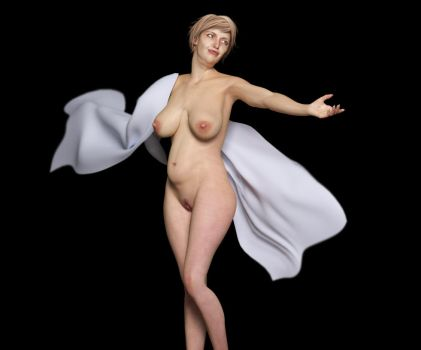 Woman posing by Posereality4