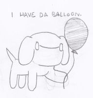 The Journey to Happyness - Balloon by cagstoon