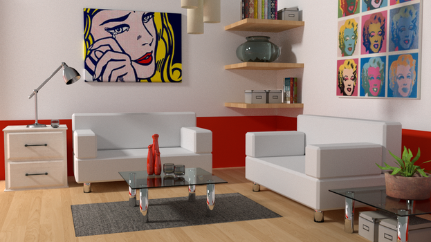 ikea room by egeres