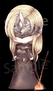 My Lady Fire keeper by beanbeancurd