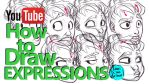 HOW TO DRAW EXPRESSIONS - A YouTube Tutorial by javicandraw