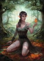 The Eternal Forest by depingo