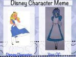Which Disney Character Are You Meme (Tahlia) by Allora1313
