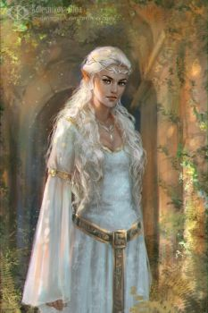 Galadriel by IcedWingsArt