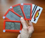 New Etch A Sketch business cards by pikajane