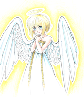 Little angel by Author-chan