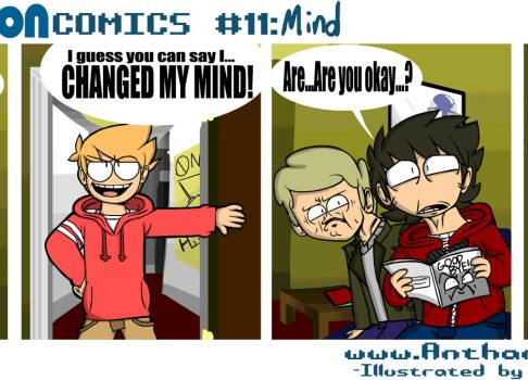 Comic 11: Mind [ANIMATED!] by Anthamation