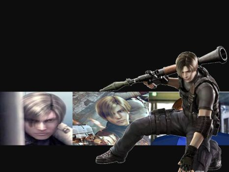 RE Leon Kennedy Wallpaper. by KaixTomiko