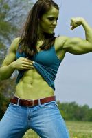 She Hulk in Jeans by shehulk54675467