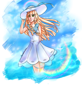 Lillie - Pokemon Sun and Moon by TheCartoonLife