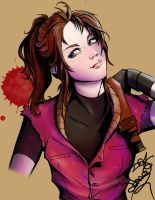 Claire Redfield by Lenneluce
