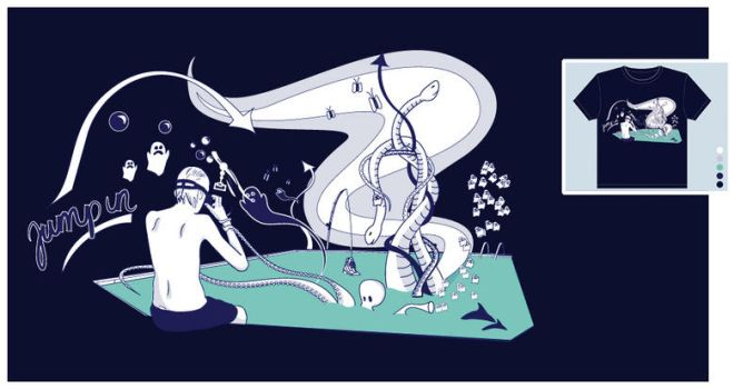 Jump in v. 2 Threadless by pure-andrea