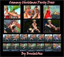 Cammy Christmas Party Dress By BrutalAce by BrutalAce